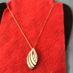 Sterling Silver Pendant And 925 Silver Chain